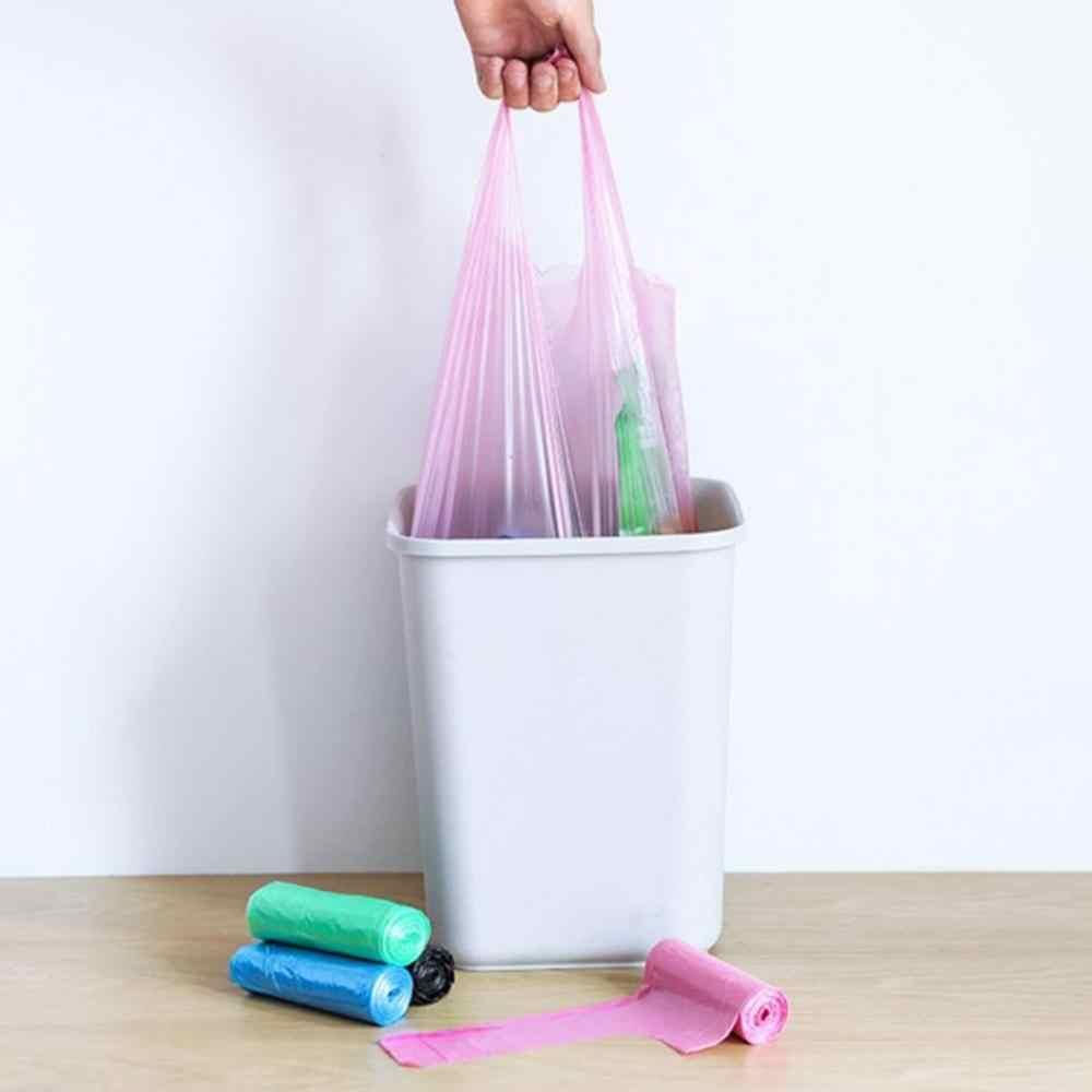 Hohe Qualität Punkt-brechen Verdickung Haushalt Küche Tragbare Weste-typ Müll Tasche Große Müll Tasche