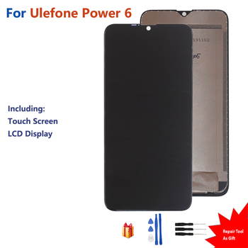 Original For Ulefone Power 6 Display Touch Screen LCD Digitizer Assembly