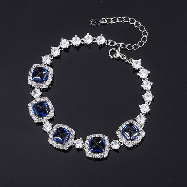 Shipei 100% 925 Sterling Silver Emerald Ruby Sapphire Created Moissanite Gemstone Fine Jewelry Bohemian Charm Bracelets Bangle 5