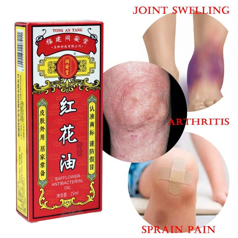 Rote Blume Analgetische Öl Painkiller Salbe Ätherisches Öl Muscle Pain Relief Salbe