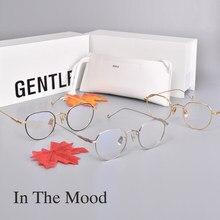 Armação de óculos de leitura gm cooperação estilo jennie, armação de óculos com bloqueio de luz azul, 2020