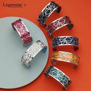 Image 3 - Legenstar Nieuwe Merk Rvs Armbanden Bangles Voor Vrouwen Sieraden Mode Verwisselbare Manchet Armband Manchette Femme