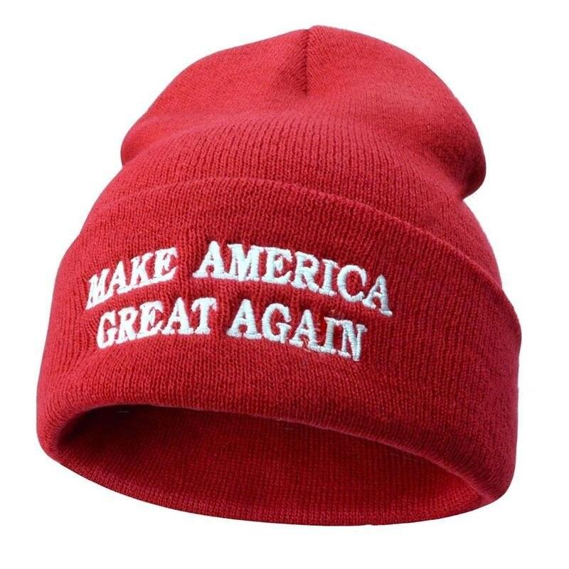 1 шт. унисекс Дональд Трамп 2020 облегающая шапка сделайте Америку великолепной снова вязанной детской лыжной шапки