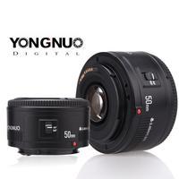 Para yongnuo yn50mm lente f1.8 ii grande abertura lente de foco automático para canon bokeh efeito lente para canon eos 70d 5d2 5d3 600d