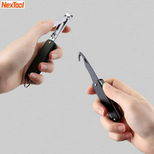 Nextool Multifunctional Nail Toe Clipper Cutter Trimmer Scissor Stainless Steel Manicure Pedicure Tool Foldable BOX Opener knife