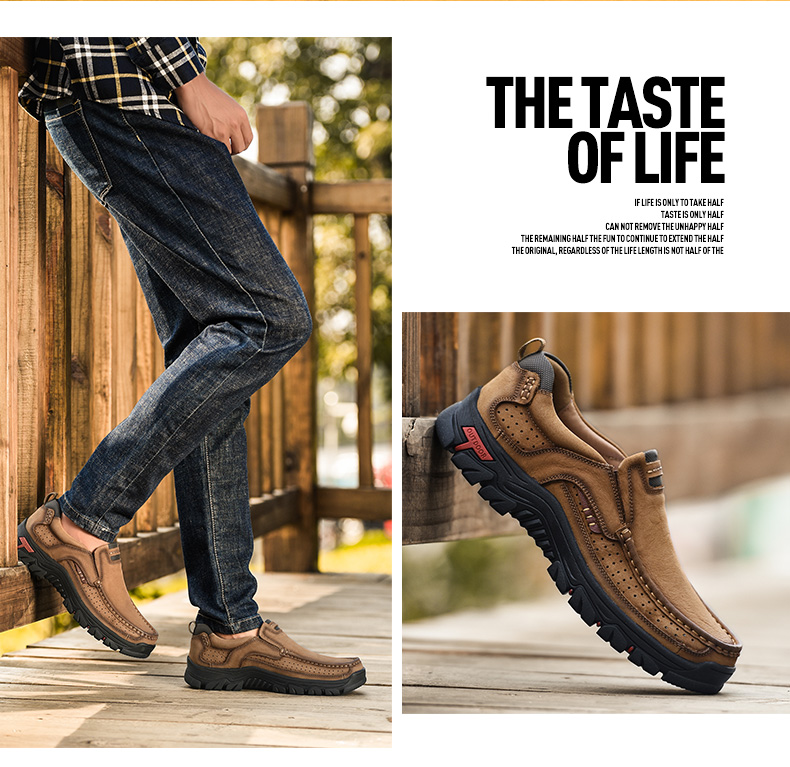 H85444a7bae194dfc9c47c45b2b1a0e1am 2019 New Men Shoes Genuine Leather Men Flats Loafers High Quality Outdoor Men Sneakers Male Casual Shoes Plus Size 48