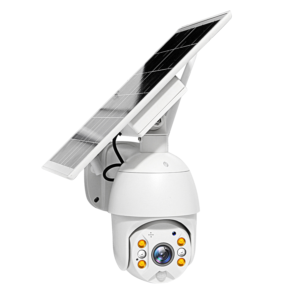 Wifi Version 1080P HD Solar Panel Outdoor Surveillance Waterproof CCTV Camera Smart Home Two-way Voice Intrusion Alarm