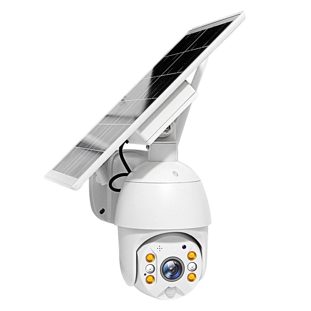 Wifi Version 1080P HD Solar Panel Outdoor Surveillance Waterproof CCTV Camera Smart Home Two-way Voice Intrusion Alarm