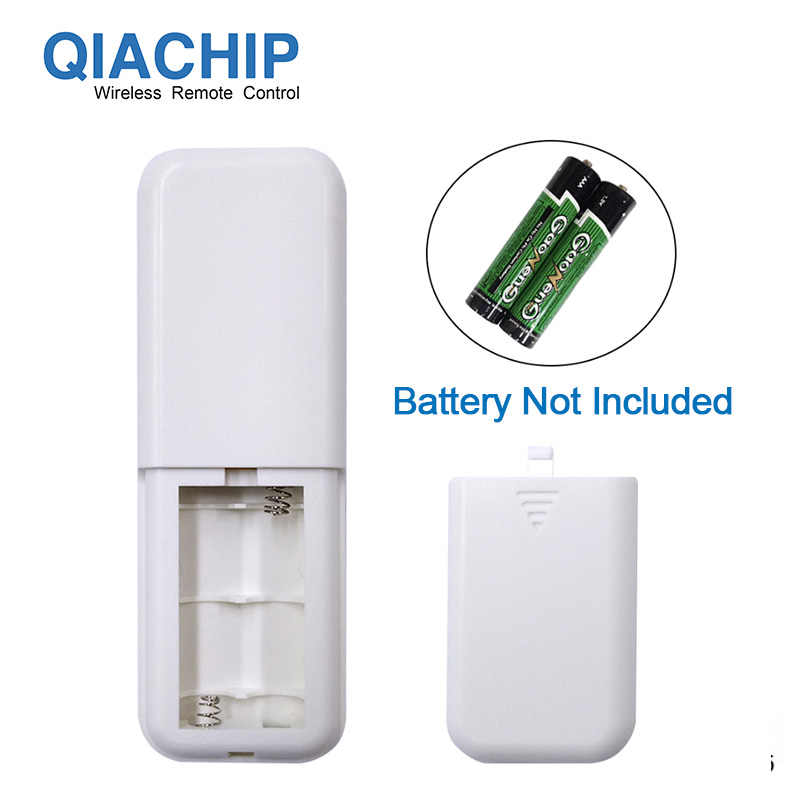 QIACHIP 1 طريقة التيار المتناوب 220 فولت RF عن بعد الرقمية اللاسلكية التحكم عن بعد التبديل تشغيل/إيقاف مروحة سقف لوحة التحكم التبديل للضوء لمبة