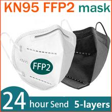 FFP2 maska na twarz KN95 maseczki do twarzy filtracja maska maska przeciwpyłowa maska do ust chroń maski przeciw grypie masque tapabocas tanie tanio NoEnName_Null Chin kontynentalnych EN 149-2001 + A1-2009