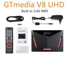 2020 yeni GTmedia V8 UHD 4K uydu kutusu alıcısı dahili 2.4G WIFI desteği DVB S/S2/S2X + T/T2/kablo/ATSC C/isdb T kutusu