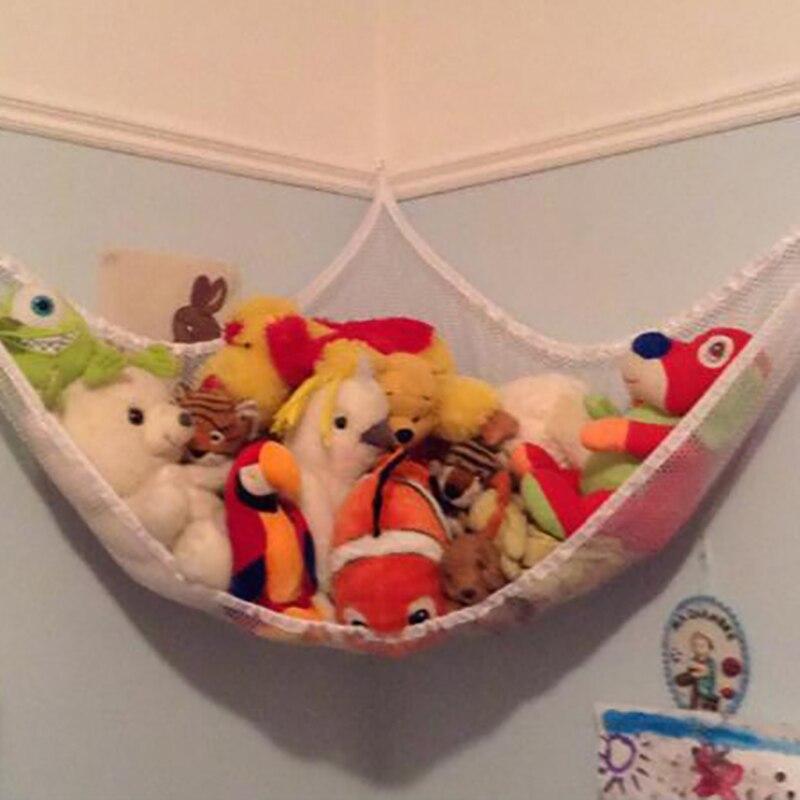 Новая сетка-гамак для хранения игрушек Детская комната игрушки чучела животные игрушки сетка-гамак для организации хранения держатель