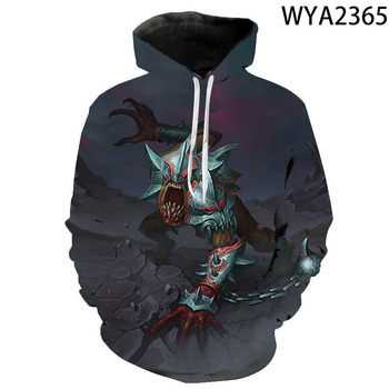 New Games Dota 2 Hoodies Fashion Men Women Children 3D Printed Streetwear Pullover Long Sleeve Boy Girl Kids Casual Sweatshirts 4