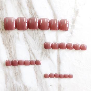 24 sztuk czerwone światło nosić krótki akapit moda Manicure łatka fałszywe paznokcie zaoszczędzić czas poręczny paznokieć łatka BUTT666 tanie i dobre opinie Y W F CN (pochodzenie) short 24pcs 309697 Z żywicy normal Sztuczne paznokcie Pełne końcówki paznokci