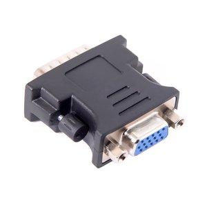 От 1 до 1 DMS-59 DMS59 59Pin DVI штекер до 1-портовый VGA Женский видео Y сплиттер короткий кабель 1 шт. к 1 монитору