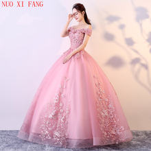 Quinceanera/платья с открытыми плечами и аппликацией; милые