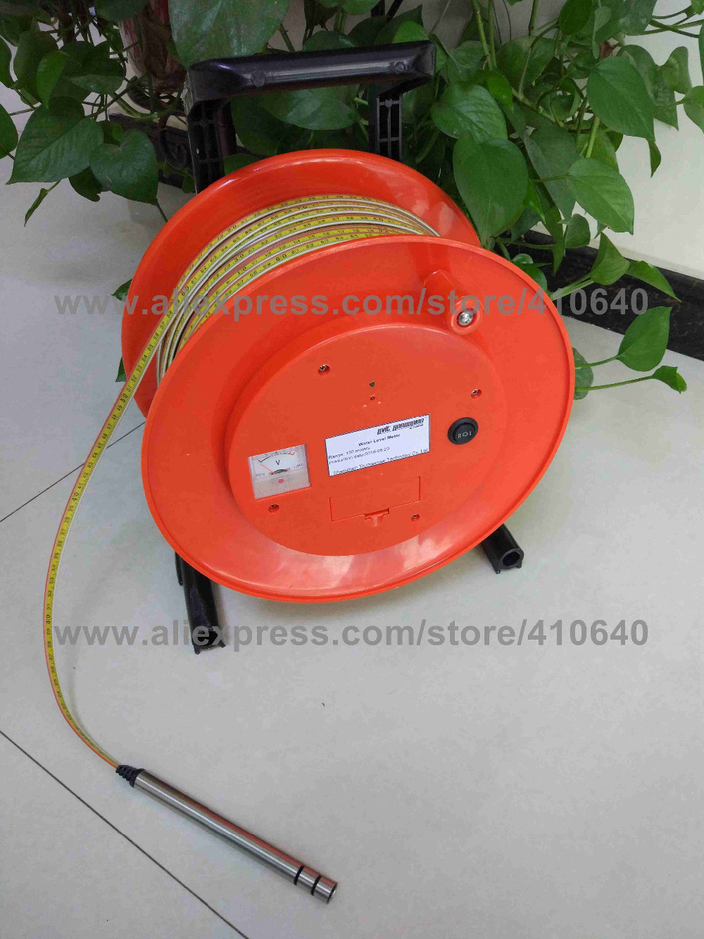 150m()  Steel Ruler Water Level Meter  (12)