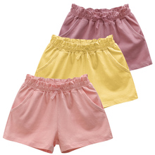 Pants Beach-Short Summer Baby-Girls Cotton Lace New And Kid Casual Travel Solide