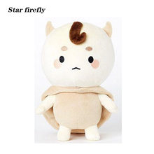 27cm Korea plush toy Buckwheat King Plush Doll Red Bean Dolls Toys Lonely and Splendid Ghosts Korean TV series Same doll(China)