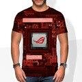 Computer Chip Motherboard CPU Heart Programmer Nerd 3D T-Shirt Tatooine Brand Master Leaf Tee Man/Women