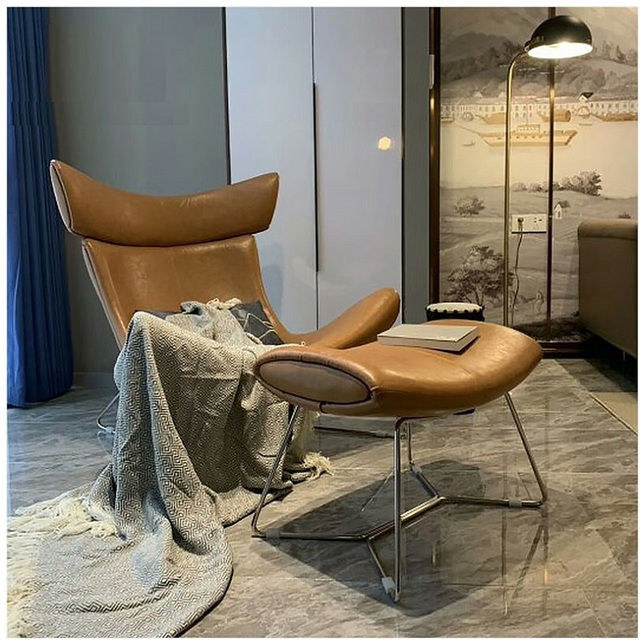Accent Luxury Chair and Ottoman 2