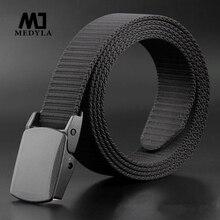 medyla Good Quality Nylon Belts for Men Belt Casual Style Male Strap Tactical Belts Ceinture Homme