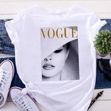 Camisa de manga curta feminina harajuku estilo tendência o pescoço camiseta mulher verão manga curta casual streetwear camisetas brancas