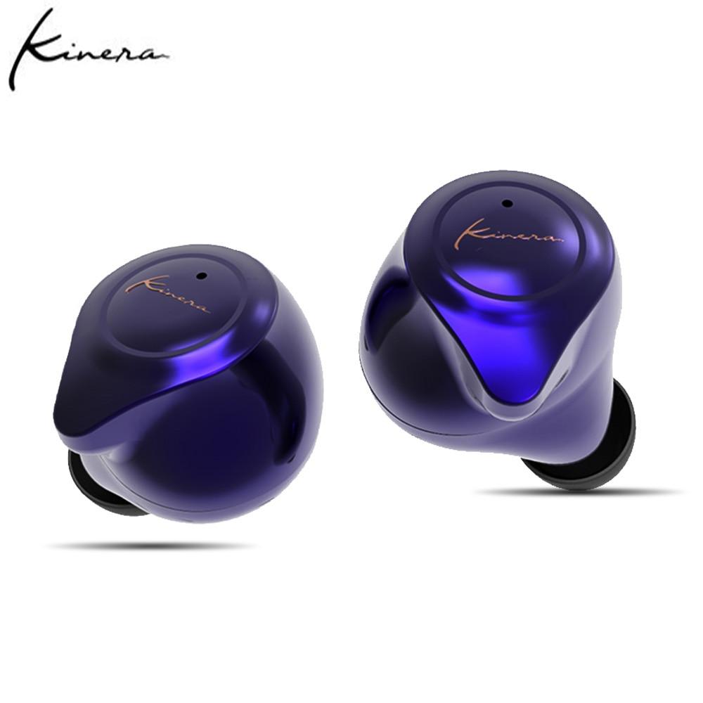 KINERA YH623 TWS In Ear Monitor Earphones Wireless Bluetooth 5.0 Noise-Cancellation Earbuds HIFI DJ Earphone Earbuds