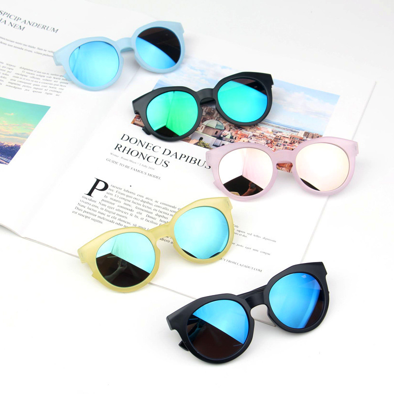 2020 New Kids Sunglasses Lovely Candy Color Baby Sunglasses Children Glasses Sun Glasses For Boys Girls UV400