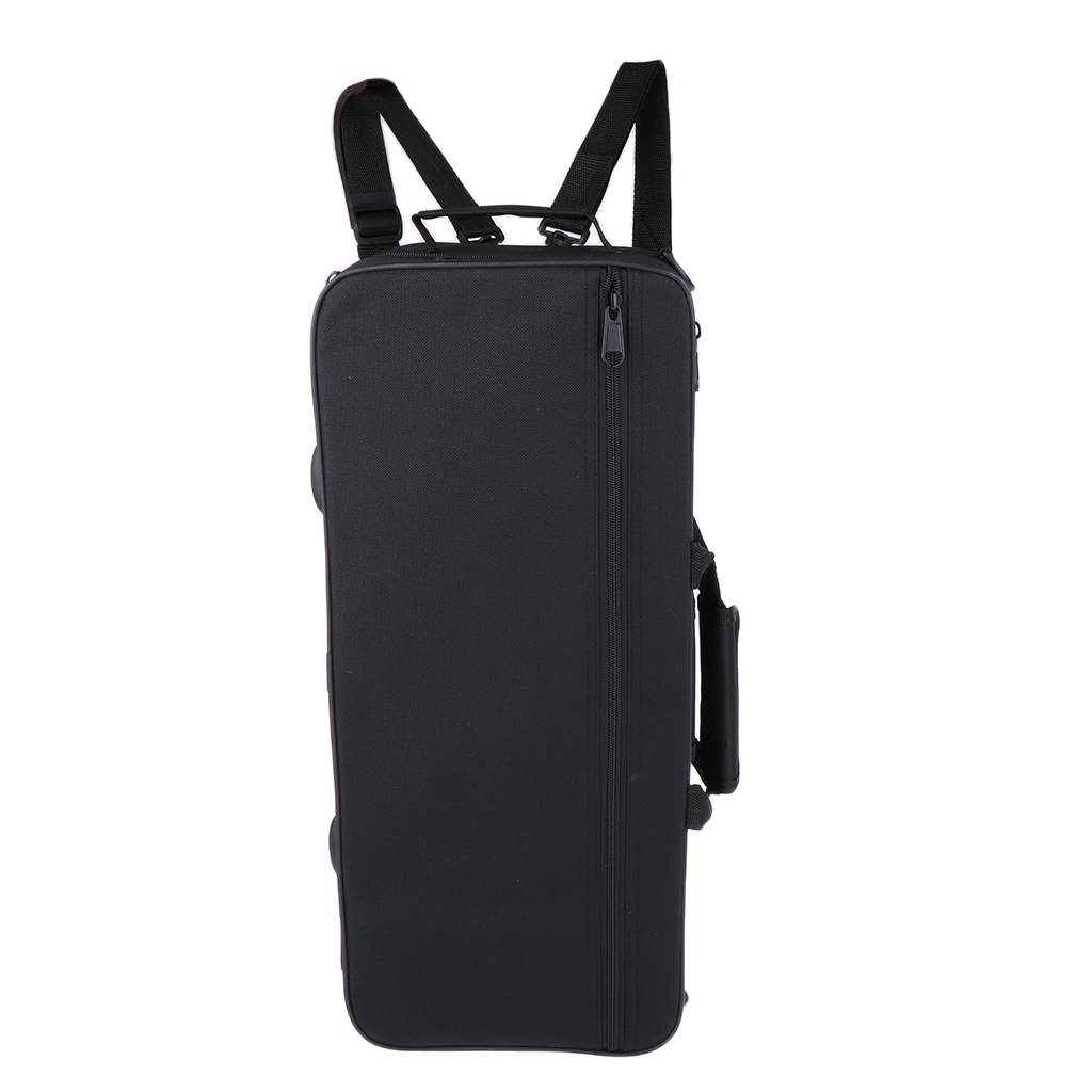 Portable Musical Trumpet Hard Case Big Bag Black For Trumpeter