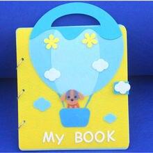 Детская книга для когнитивной игры mom sew ручной работы Обложка