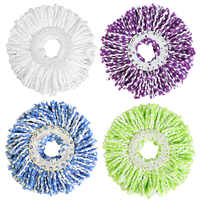 Replacement 360 Rotating Mop Head Spin Noozle Mops Wash Easy Magic Microfiber Spinning Floor Mop Head House Home Floor Cleaning