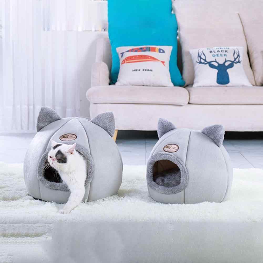 Cane di animale domestico Del Gatto di Casa Tenda Canile Inverno Caldo Nido Morbido Pieghevole Sacco A Pelo Pad Cucciolo di Animale Cave Sacco A Pelo Zerbino Nido Canile di animali da Compagnia