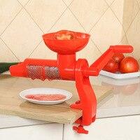 Wyciskacz do wyciskania instrukcja plastikowy sos pomidorowy sok pomidorowy wielofunkcyjne akcesoria kuchenne narzędzia owoce gadżety WJ1146 w Ręczne sokowniki od Dom i ogród na