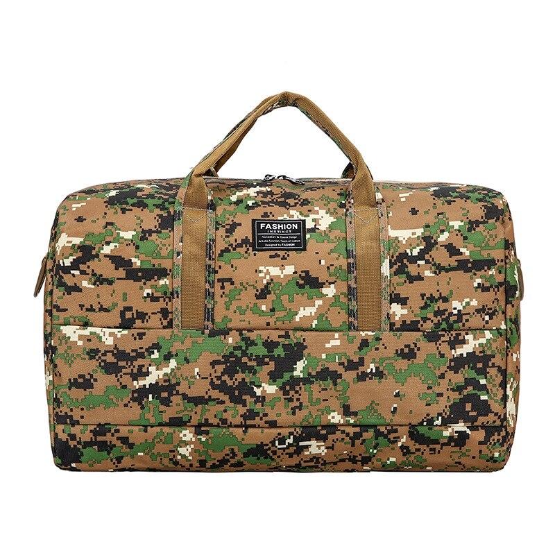 2019 New Minimalist Fashion Camouflage Travel Bag Folding Sports Bag Shoulder Portable Multi-purpose Yoga Backpack