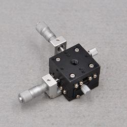 CHUO LD-347-C1 оптическая ось XY Точность смещения тонкой настройки скользящий стол 30*30 мм алюминиевый стол