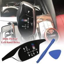 Vendita calda 1 pz pomello del cambio pannello decorazione copertura adesivo per BMW 5 6 7 serie G30 G38 G02 525 530 540 730 X3 X4 interni auto