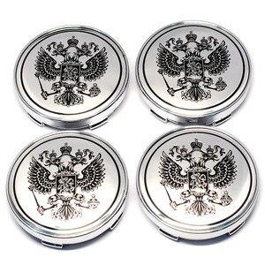 Image 5 - 4 adet 60mm rus ulusal kalkan araba tekerlek merkezi kapakları teker göbeği kapağı LADA için TOYOTA NISSAN Hyundai KIA Chevrolet Mitsubishi ford BMW