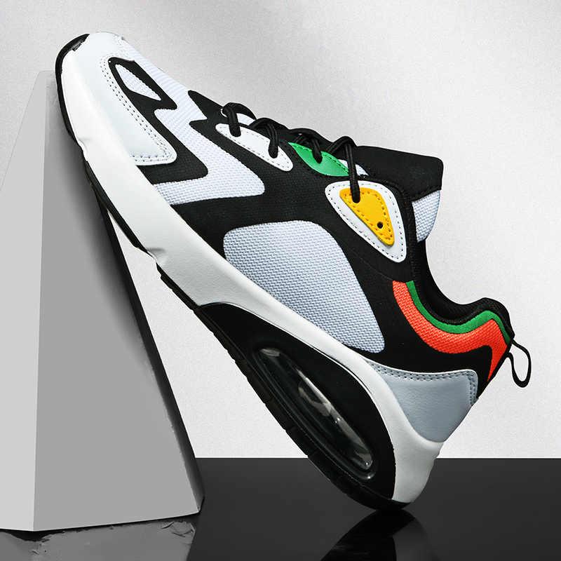Marka spor ayakkabı eğitmenler erkekler nefes spor ayakkabı erkekler koşu ayakkabıları Unisex atletik ayakkabı kadın eğilim spor Sneaker 2020 yeni