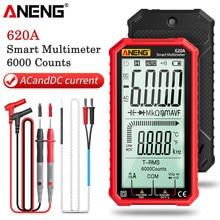 ANENG – testeur de Transistor multimètre numérique intelligent 620A, 6000 points True RMS, capacité électrique automatique, résistance à la température