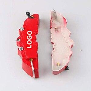 Новый 2 шт/4 шт Автомобильный тормозной суппорт крышка 3D слово красный тормозной чехол подходит для автомобиля 14-18 дюймов 2 м и 2 S Универсальный комплект Для Brembo