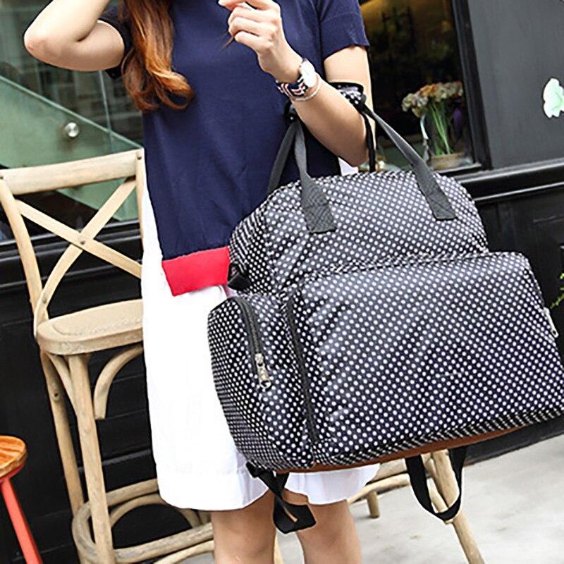 Nappy Bag Backpack Baby Bags Mummy Maternity Bag Large Nursing Large Handbag With Diaper Mat Outdoor BDL002