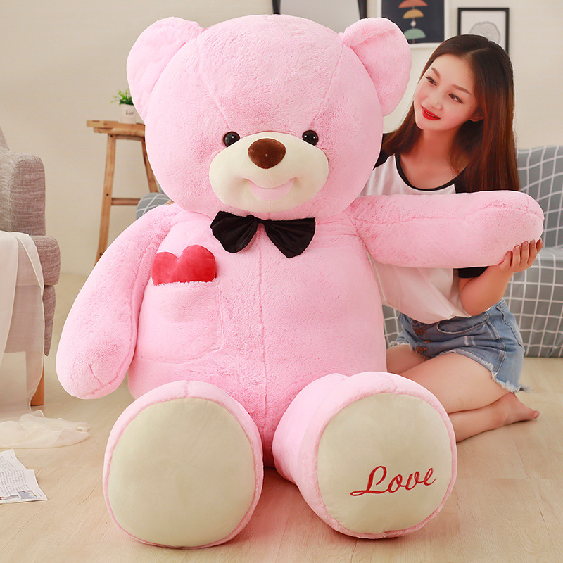 Плюшевый игрушечный медведь, кукла, милое сердце, дю рот, медведь, кукла, плюшевый медведь, объятие, медведь, любовь, большой размер, подарок д...