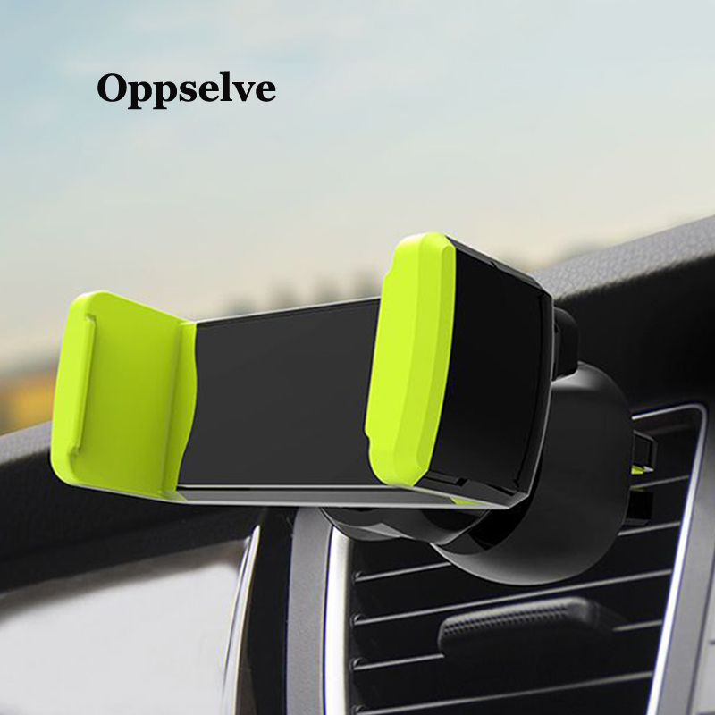 Car Phone Holder For Your Mobile Phone Holder Stand For IPhone 11 8 Samsung Air Vent Mount Cell Phone Support In Car Phone Stand
