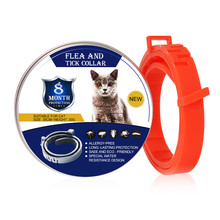 new Removes Flea And Tick Collar Dogs Cats Up To 8 Month Flea Tick Collar Anti-mosquito and insect repellent dropshipping#1018