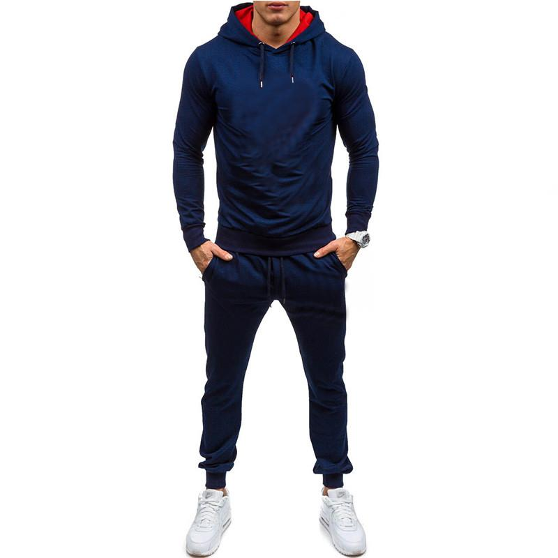 2020 New Hot Selling Thin Men's Sports Suit 2-piece Set
