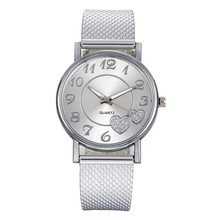 2020 Fashion Ladies Quartz Bracelet Watch Female Mesh Belt Dress
