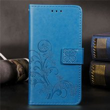 Flower Leather Flip Stand Case For Meizu