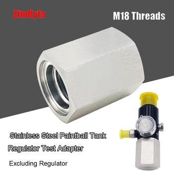 PCP Paintball HPA CO2 Tank Regulator Valve Leaks Test Adapter M18*1.5 1pcs