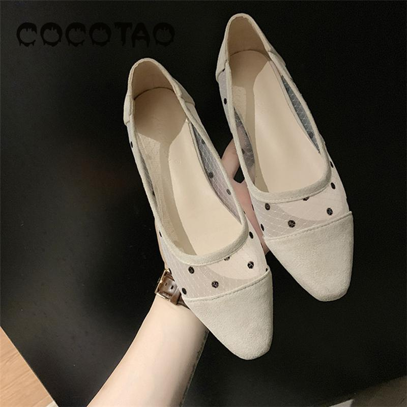 Pointed shoes women 2019 new Korean version of Joker Doug flat bottomed one pedal women 39 s shoes red evening grandma shoes20 in Women 39 s Flats from Shoes